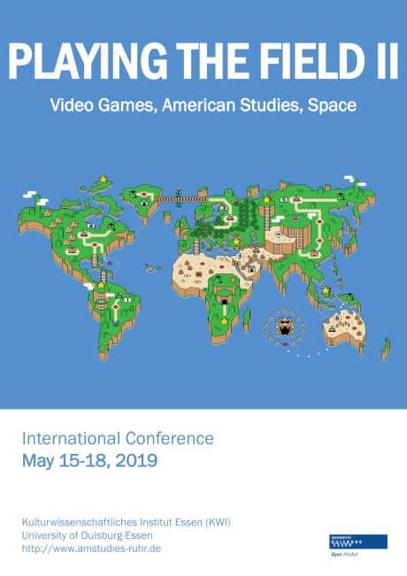 Tagung: Playing the Field II: Video Games, American Studies, and Space
