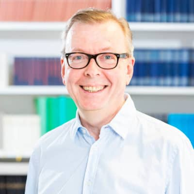 Portrait Prof. Dr. Volker Heins