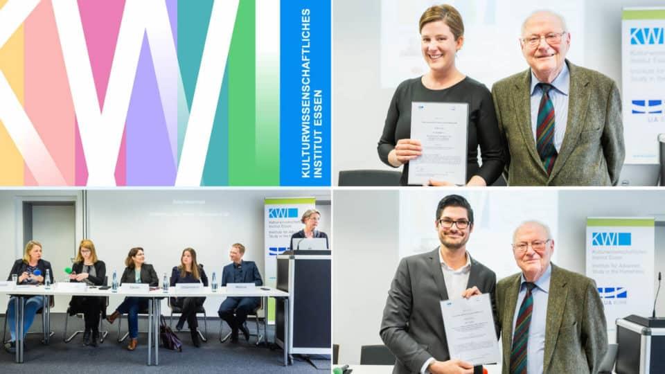 Schichtwechsel: Dissertationspreis 2018 & Neue KWI-Forscher*innen
