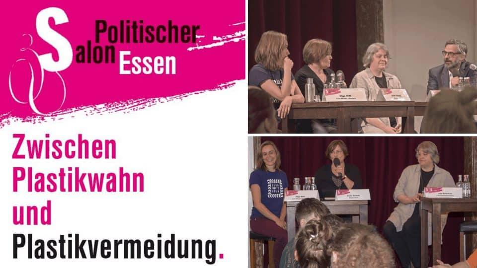 KWI on Tour: Zwischen Plastikwahn und Plastikvermeidung – Politischer Salon Essen
