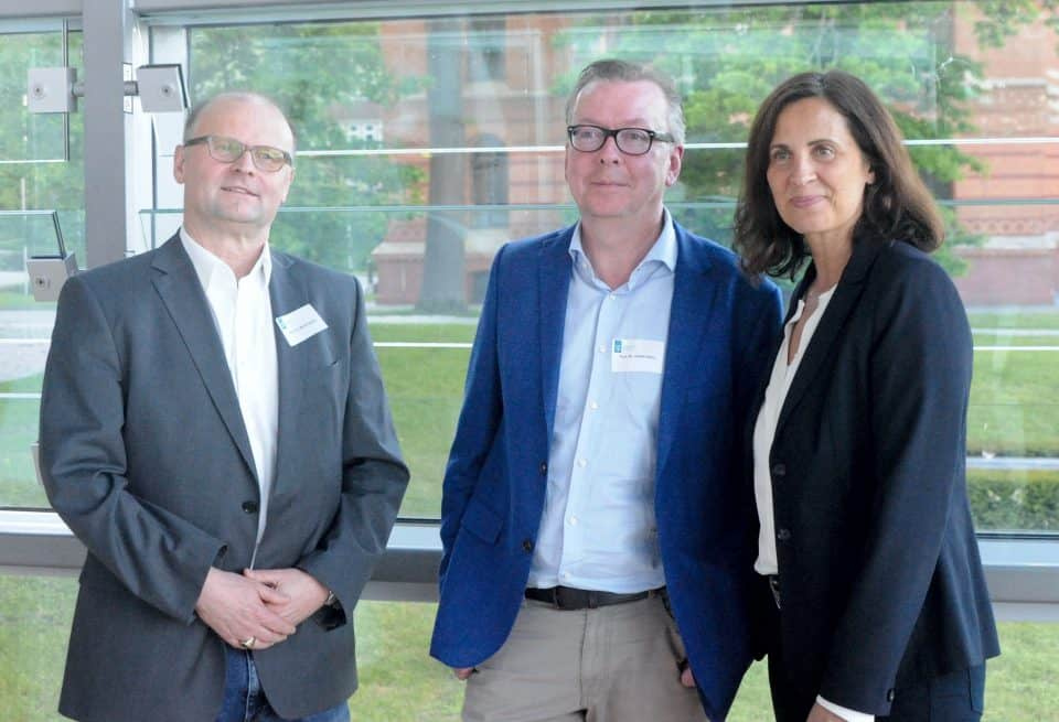 v.l.n.r: Bernd Simon, Volker Heins, Samiah El Samadoni. © Kieler Forschungsstelle Toleranz (KFT)