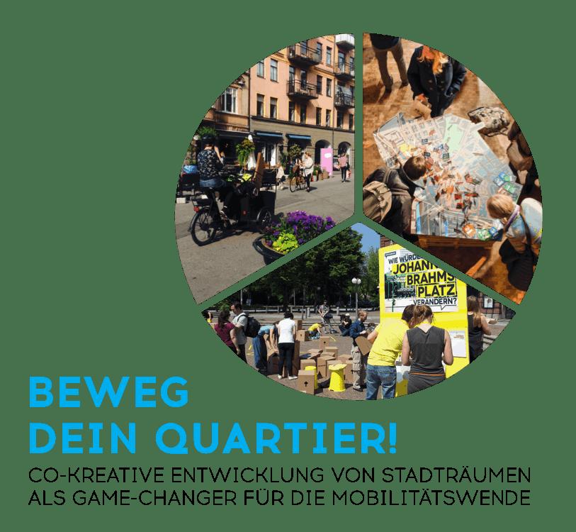 "Projektstart in der Partizipationskultur: ""Beweg Dein Quartier!"""