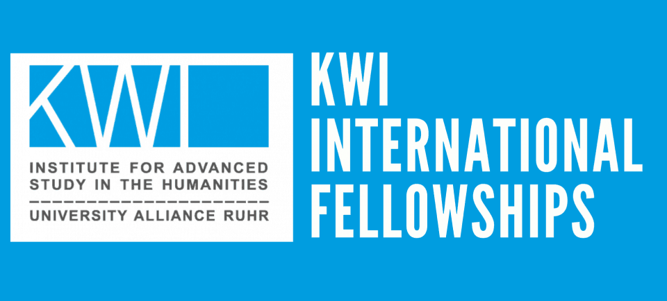 New: KWI International Fellowships starting this fall