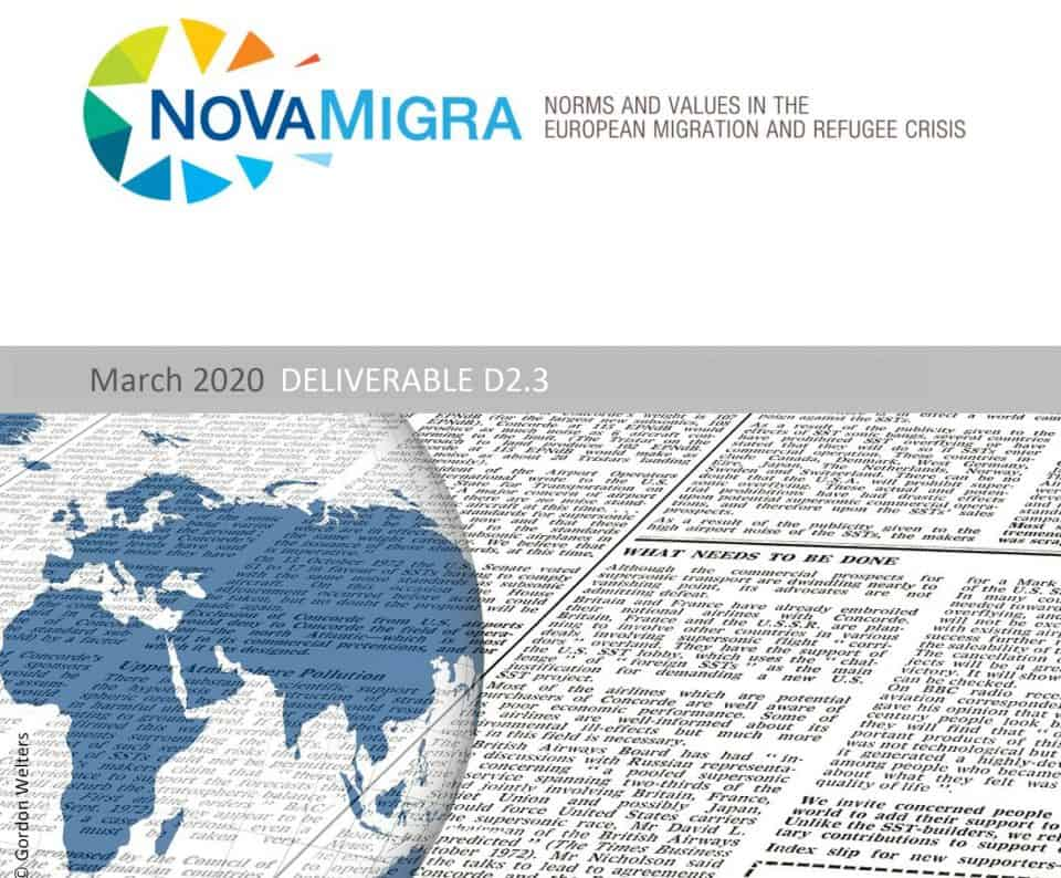 NoVaMigra Policy Paper. Cover Foto: © Gordon Welters