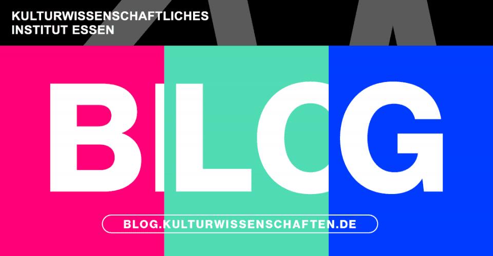 Der KWI-Blog biete Raum für (kultur-)wissenschaftliche Diskussionen, Gedanken und Theorien.