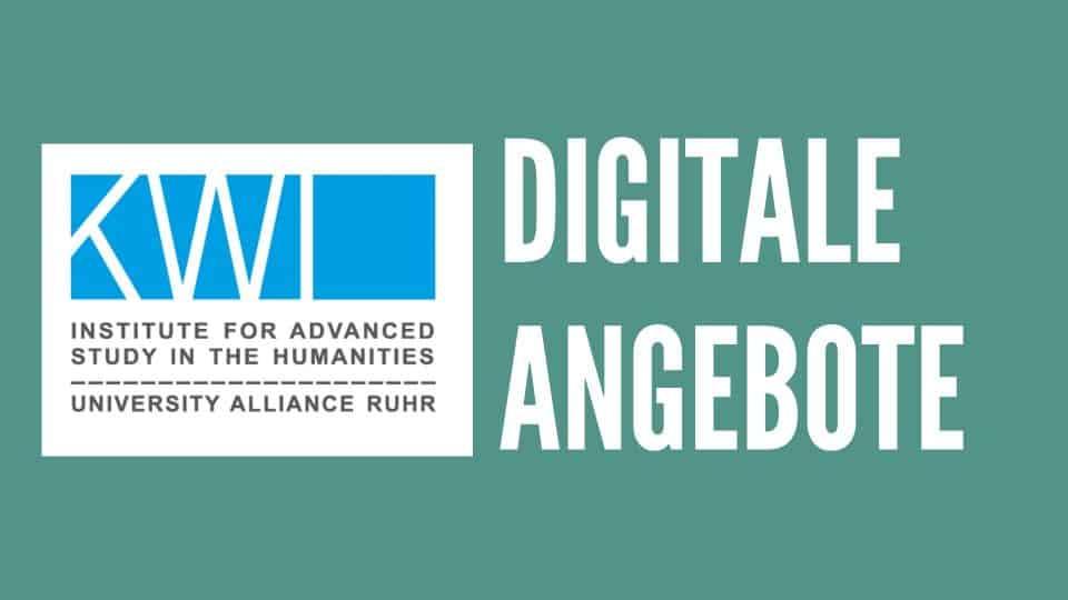 KWI-Veranstaltungen virtuell