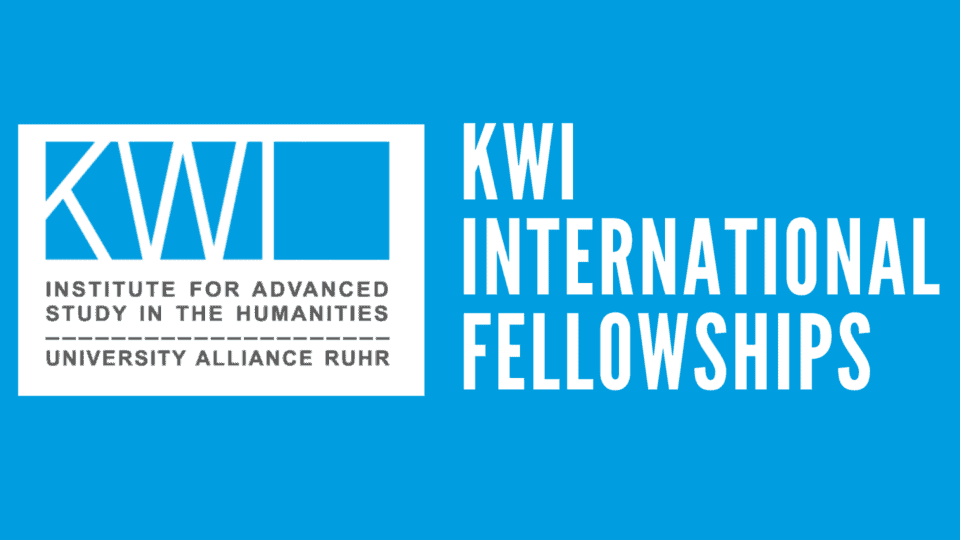 KWI International Fellowships in Spring 2021