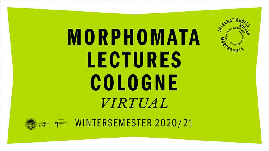 Banner image of MORPHOMATA LECTURES COLOGNE